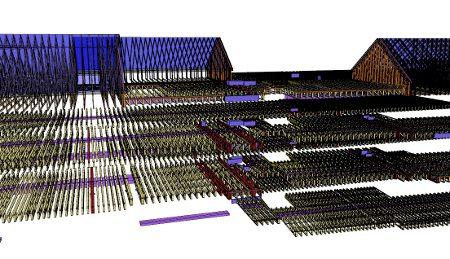 Complex Floor Truss in 3D