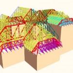 A 3D View of Roof Truss Design